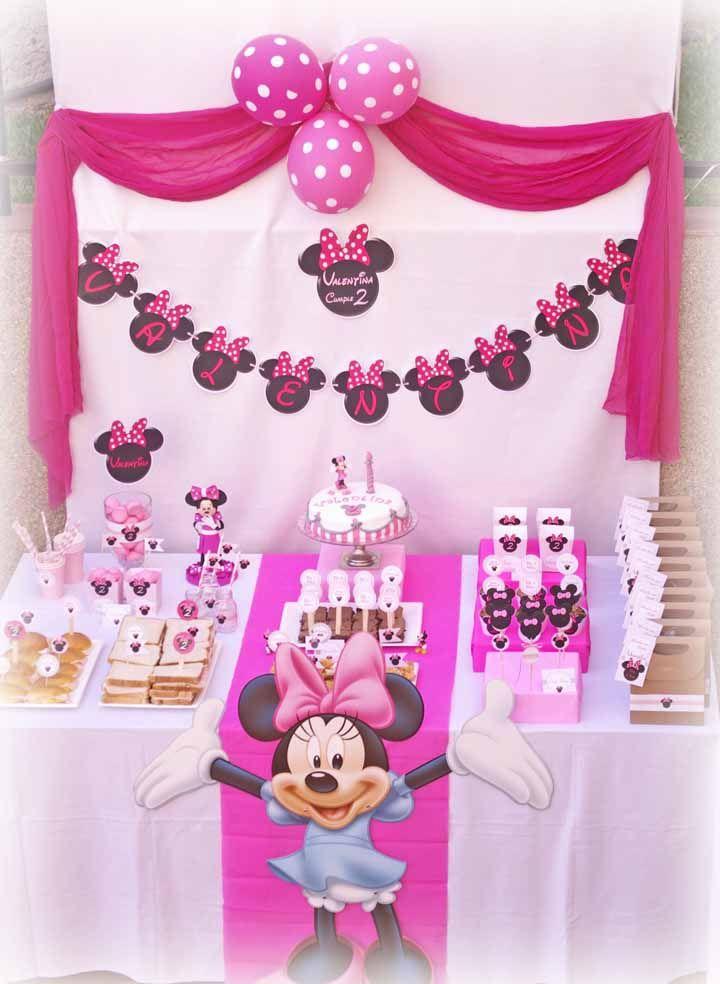 Mas a Minnie cor de rosa também faz bonito