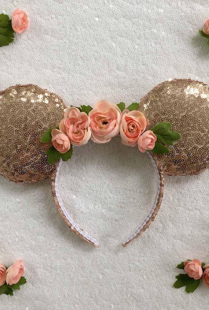 Tiara especial da Minnie para a aniversariante usar