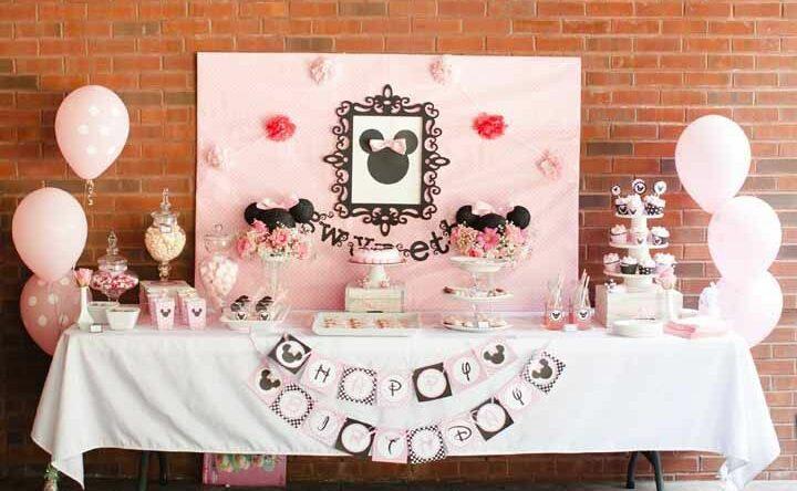 Festa da Minnie: 60 ideias para a decoração da mesa e mais
