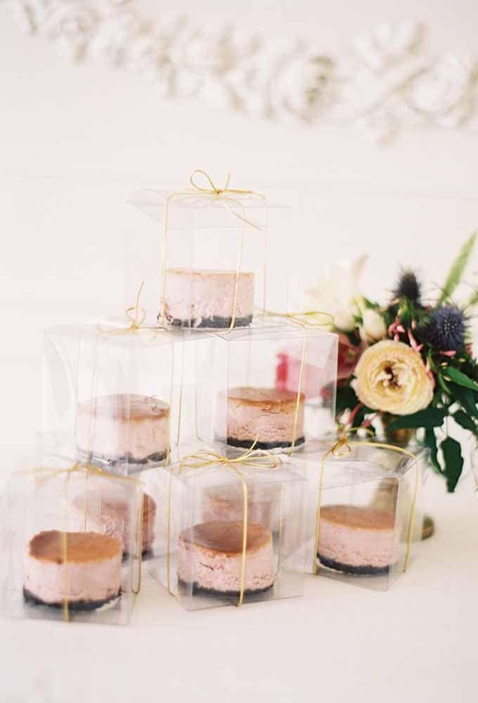 Mini bolo na caixa: quanto tempo será que dura uma lembrancinha como essa?