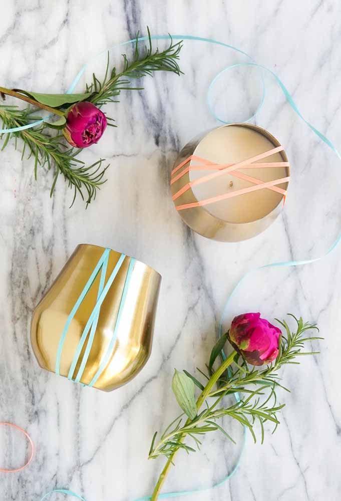 Velas decorativas: uma opção de lembrancinha de batizado que seus convidados vão amar