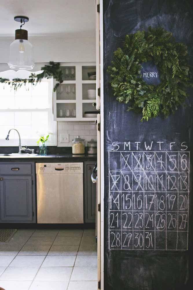 E se o Chalkboard virar um calendário? Uma boa opção também