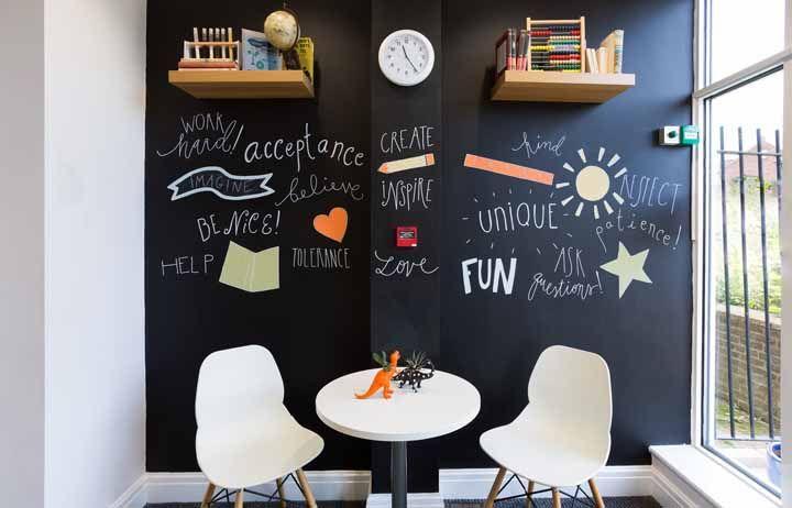 Palavras que inspiram para um dia melhor: use-as no Chalkboard