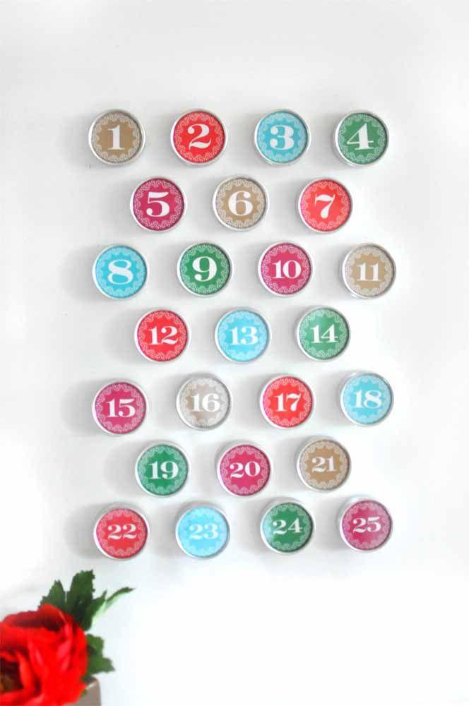 Painel de números para decorar a parede da casa