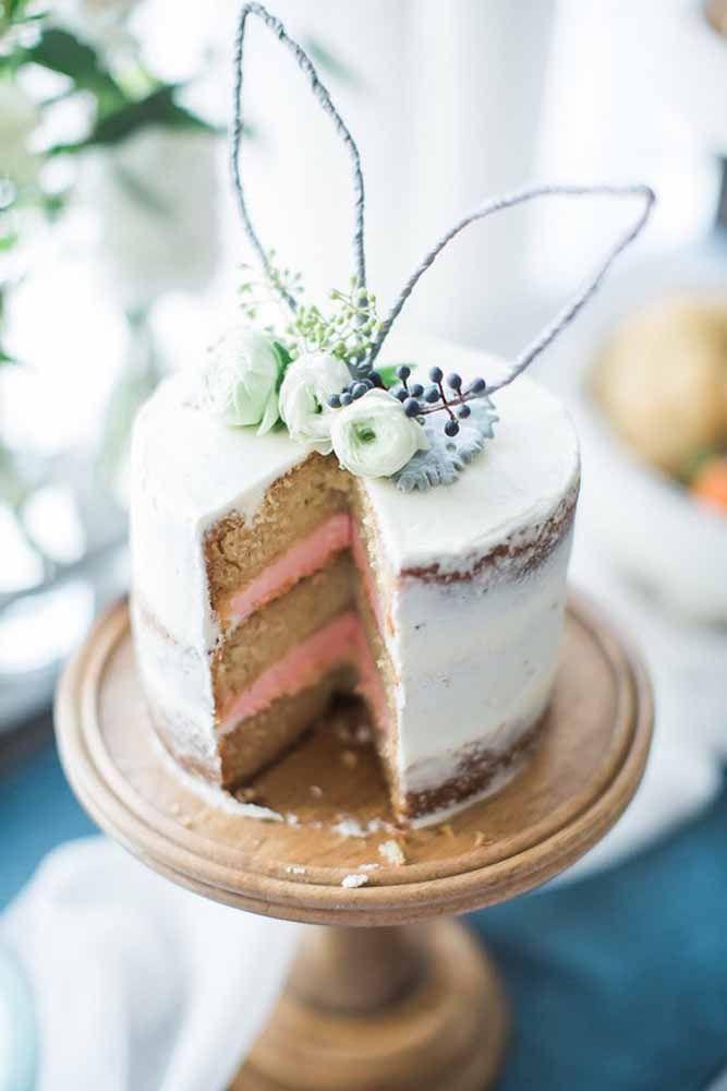 O segredo de um bom bolo é ser bonito por fora e delicioso por dentro