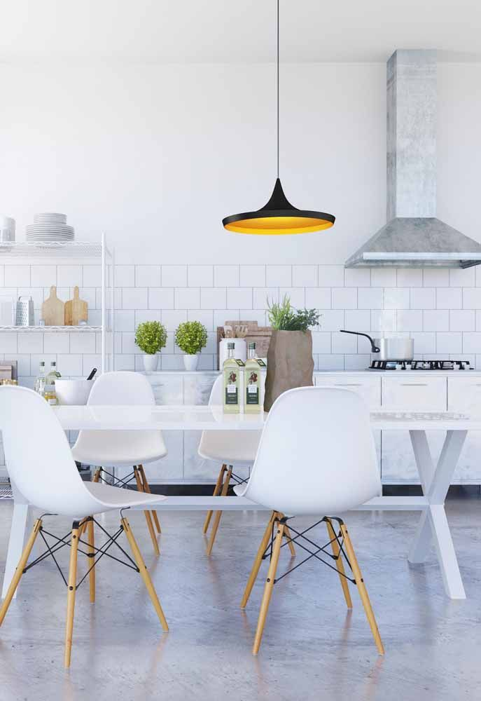 Você diria que essa cozinha é modulada? Perfeita!