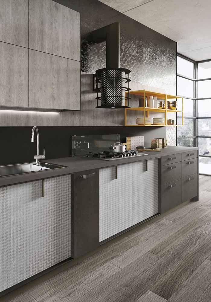 As cores certas para trazer modernidade e estilo para sua cozinha