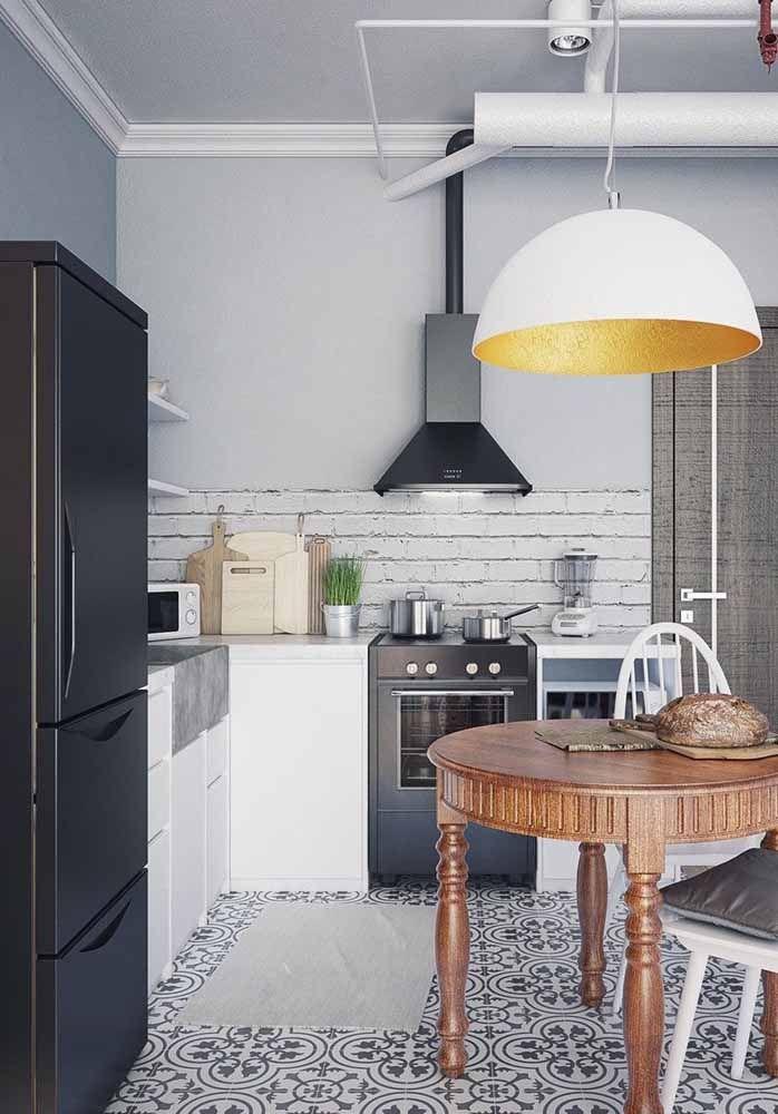 Cozinha modulada com ou sem rodapé? Você pode optar por isso no momento da compra