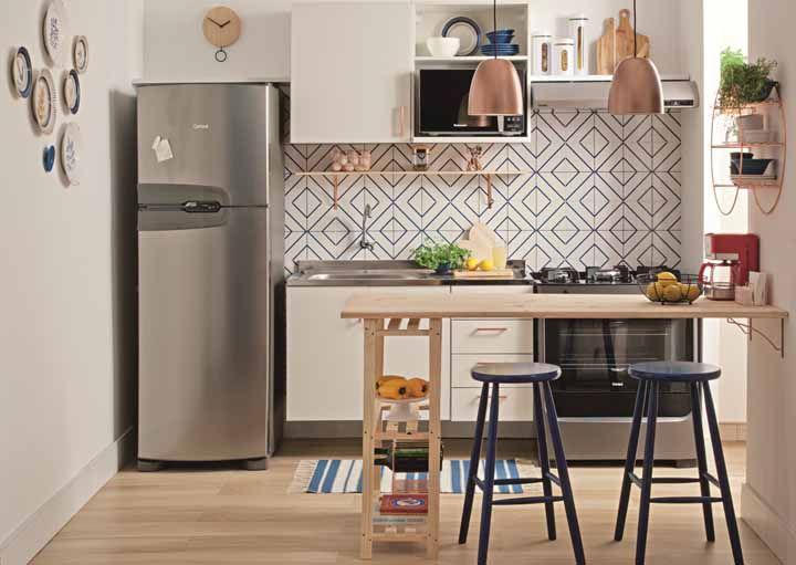 Cozinha modulada: conheça as vantagens, desvantagens e veja fotos