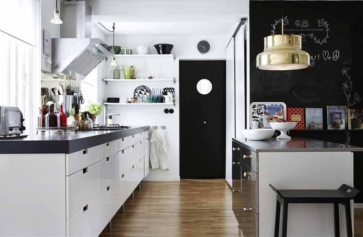 Cozinhas pequenas se beneficiam muito do uso de módulos