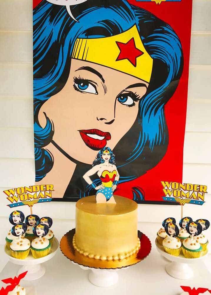 Dos quadrinhos para a festa: você pode optar pela versão original da Mulher Maravilha