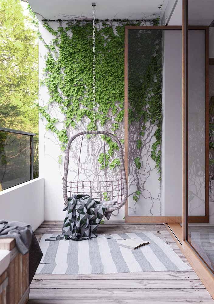 Toda beleza que uma simples trepadeira pode trazer para dentro de casa