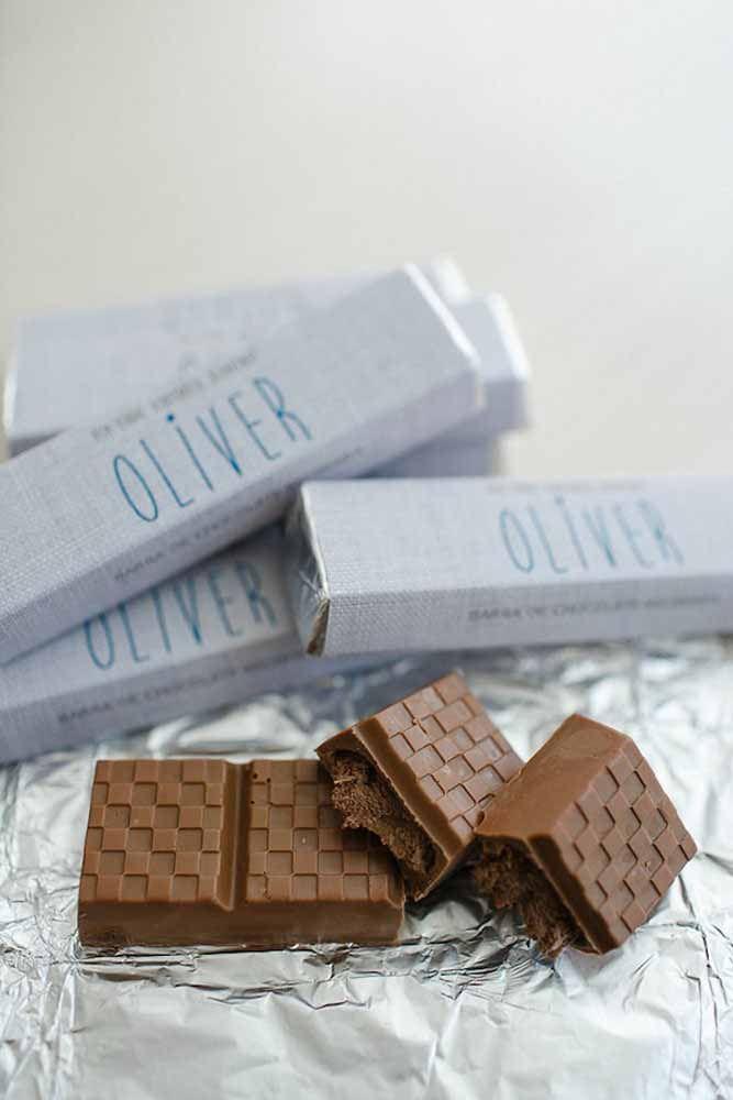 Chocolate nunca é demais!