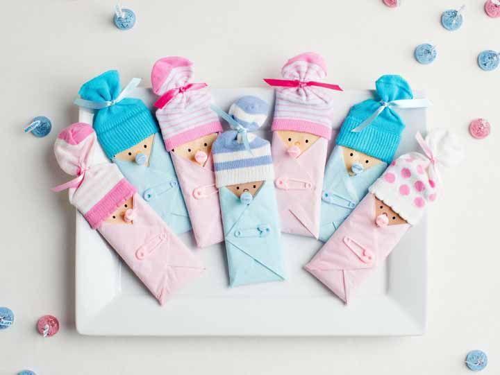 Bebês miniaturas para levar pra casa
