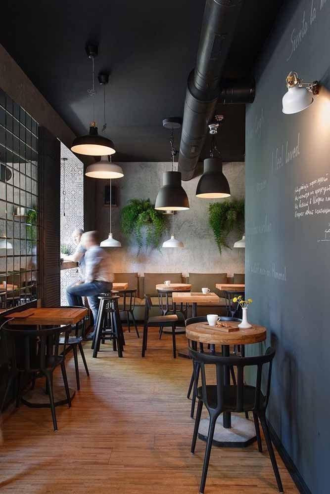 O restaurante pode abrir um espaço na parede para que os clientes se expressem