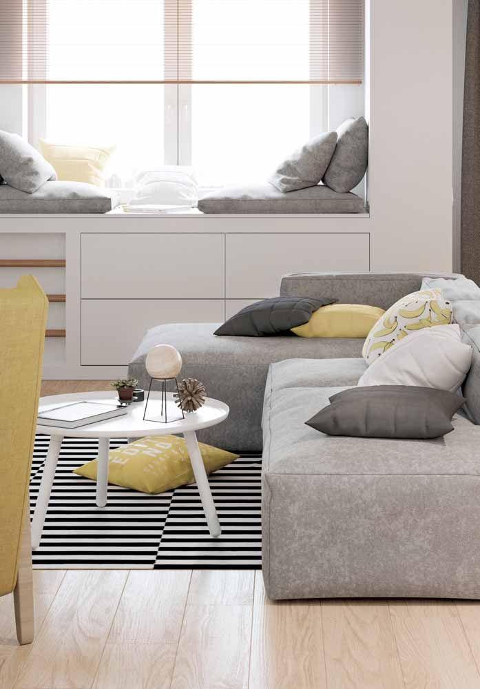 As cores e estampas variadas são outra grande vantagem desse piso