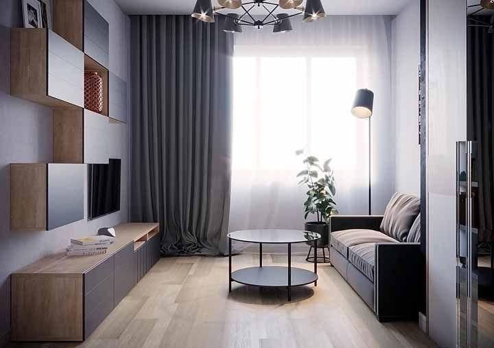 Convidativo e confortável, o piso vinilico dispensa o uso do tapete