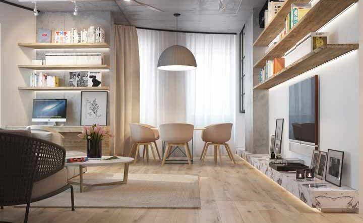 Piso para sala: descubra como escolher com 60 ideias de decoração