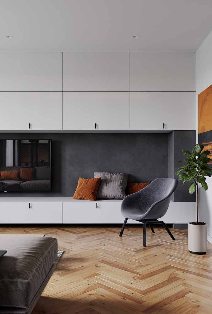 A beleza e o conforto incomparáveis de um verdadeiro piso de madeira