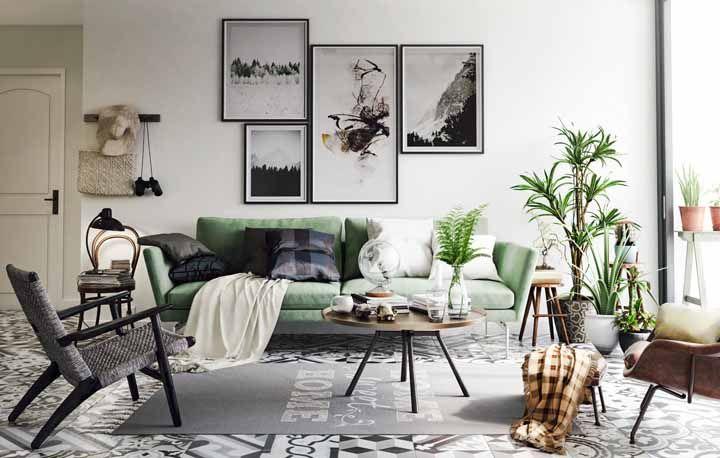 O estilo retrô está na moda e você pode encontrar pisos cerâmicos com essa tendência