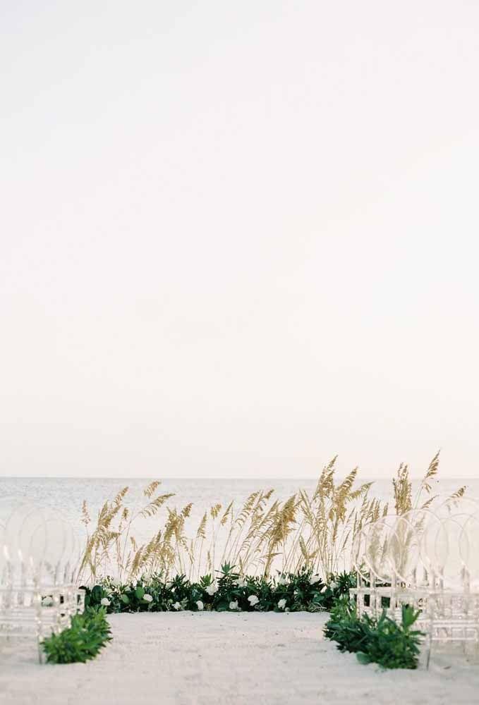 Simplicidade é a palavra chave para casamentos na praia