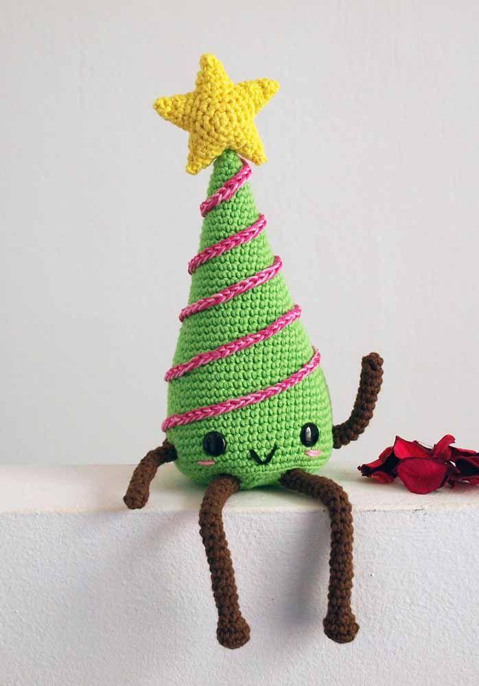 Uma árvore de natal fofa e divertida