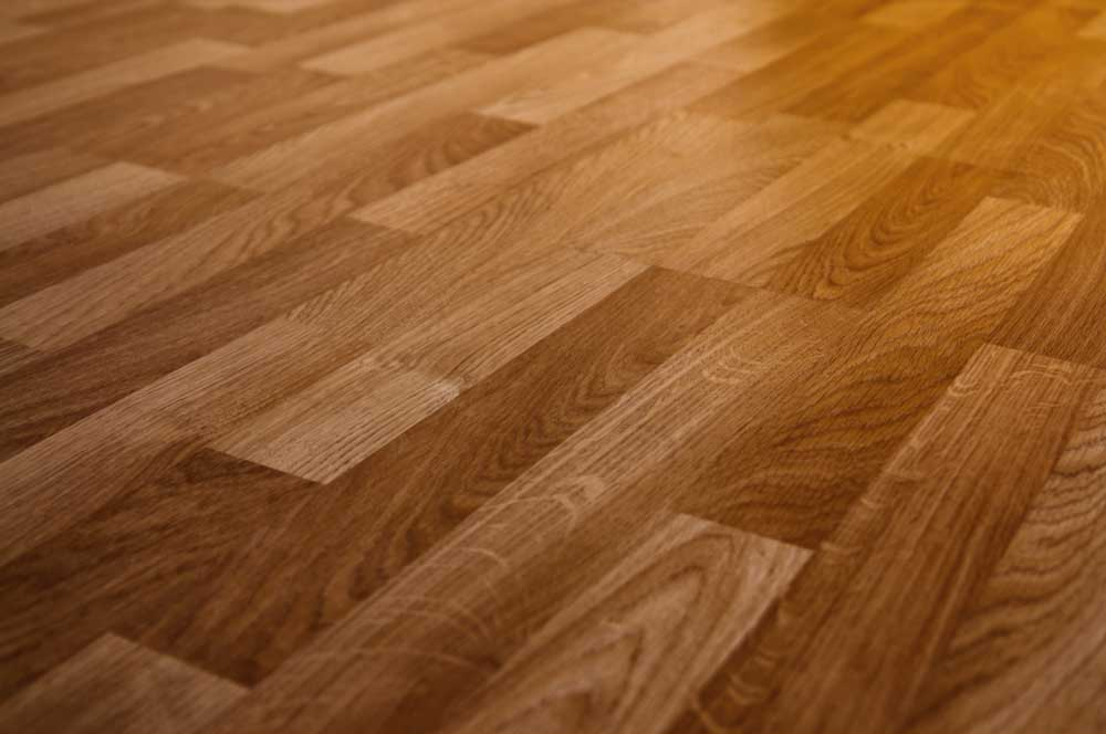 Piso de carpete de madeira