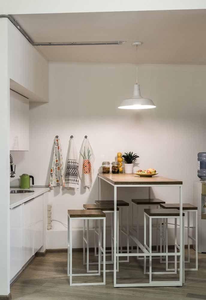 Cozinhas compactas são ideais para ambientes pequenos