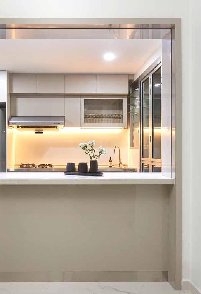 Uma cozinha planejada é a tendência do momento, principalmente para quem não pode contar com muito espaço