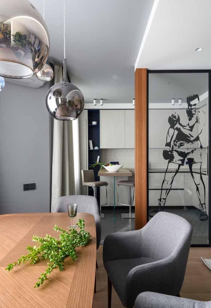 Fazer uma cozinha com uma decoração mais clean é a melhor forma de garantir um espaço amplo
