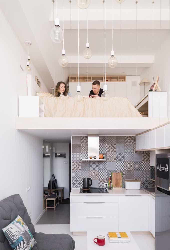 Em lofts e estúdios todos os cômodos precisam estar em perfeita harmonia