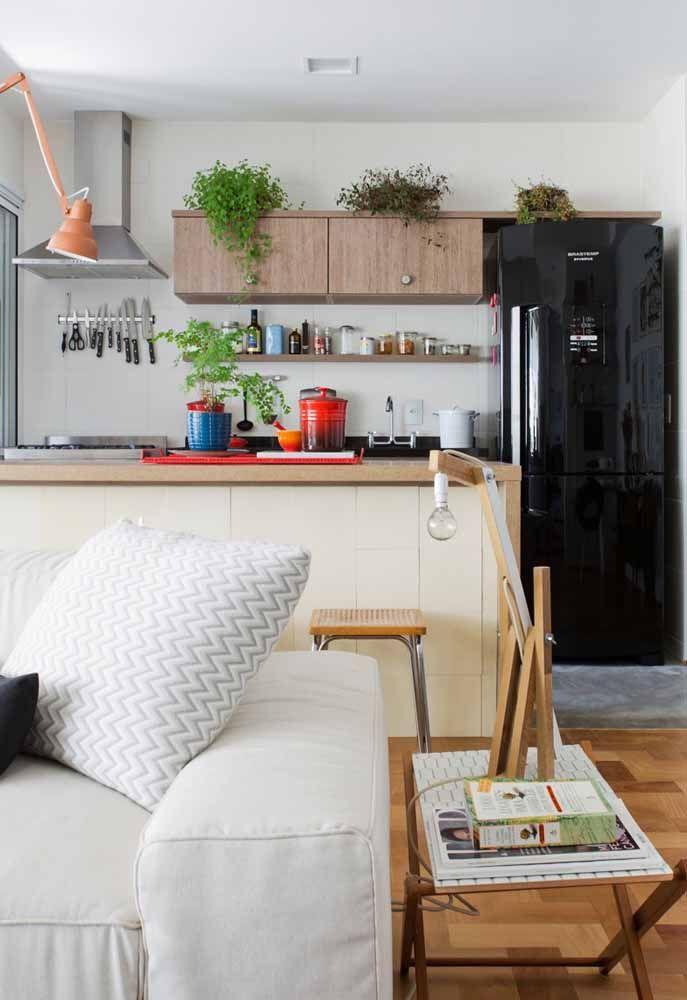 Deixe a geladeira ser o grande destaque da cozinha