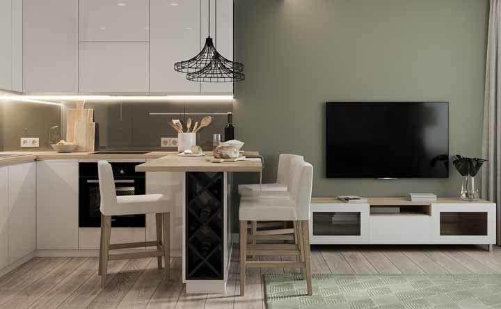 Cozinha planejada apartamento pequeno: veja dicas para decorar e fotos