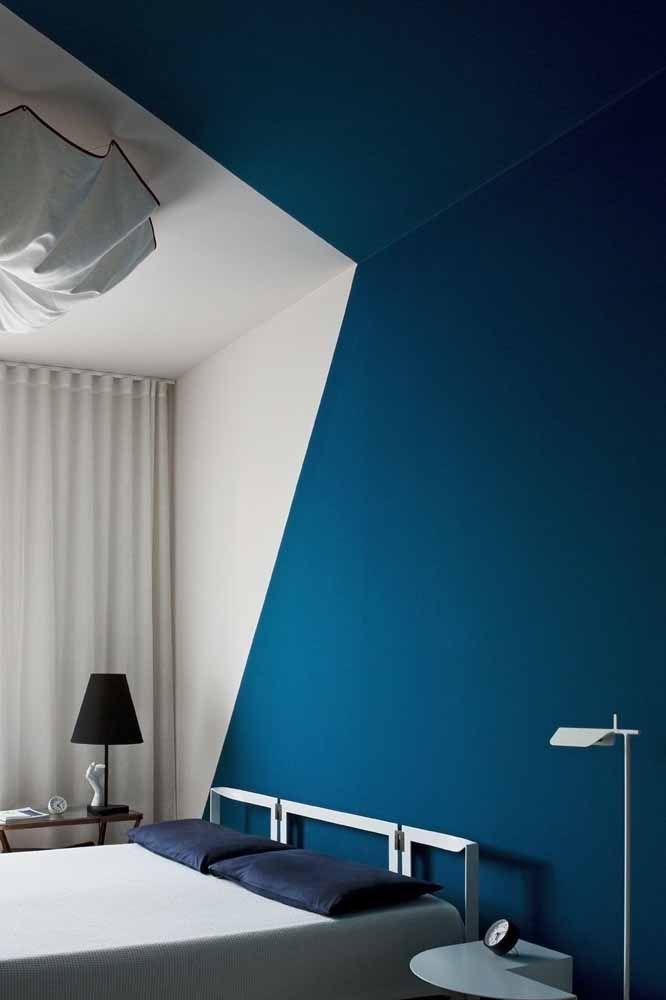Quando apenas uma cor – cheia de vida – já é suficiente para a decoração do quarto...