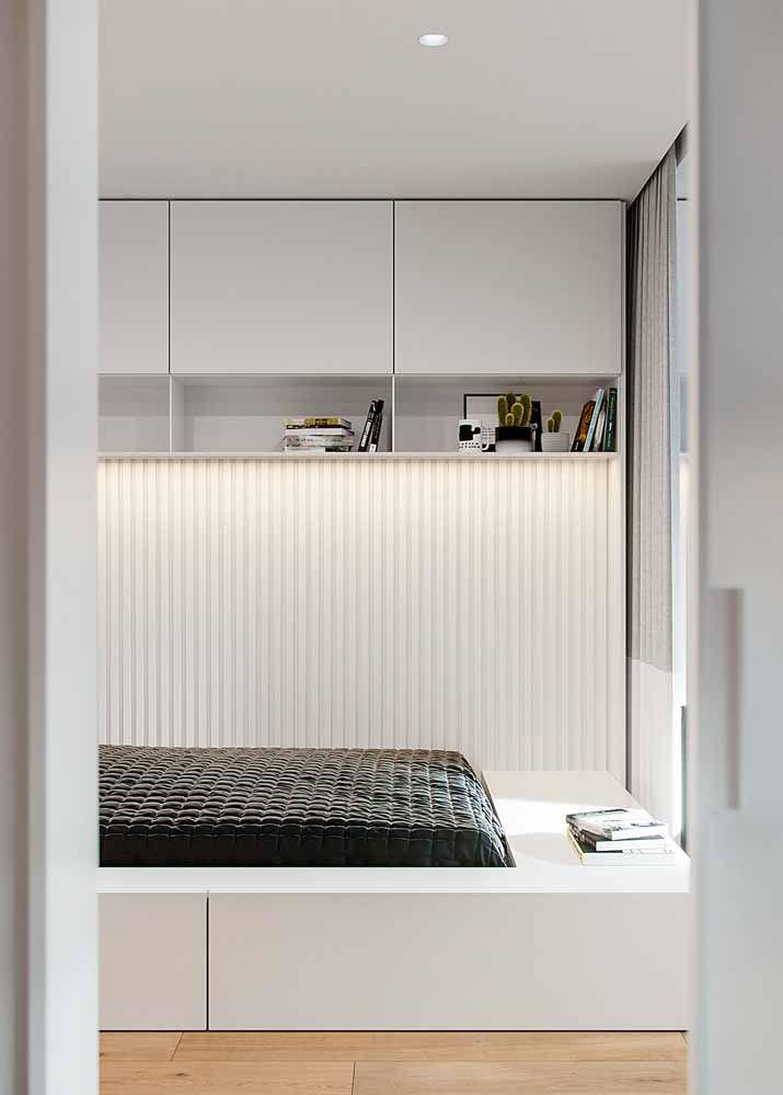Quer um projeto de quarto como esse? Só mandando fazer sob medida