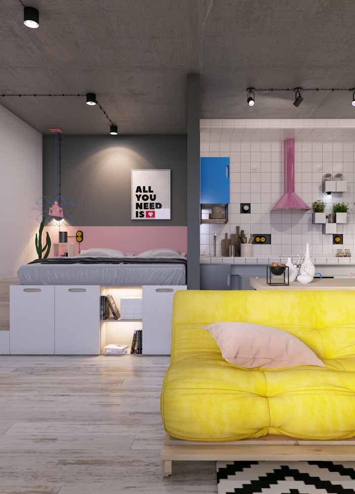 Quanto menor o espaço, maior a necessidade de móveis sob medida