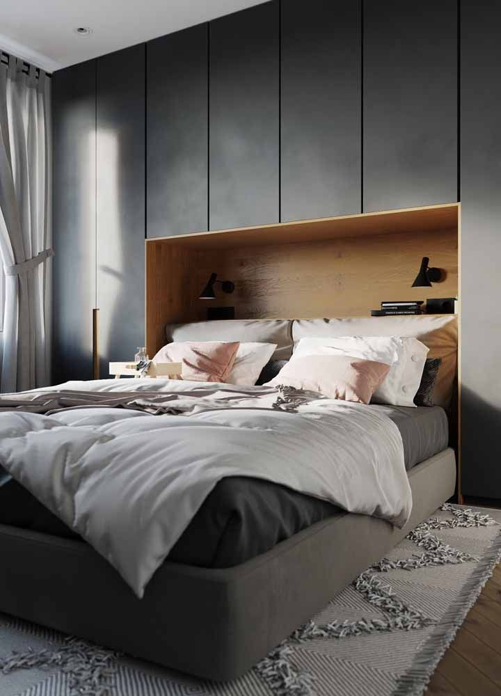 Um guarda roupa capaz de atender todas as suas necessidades e, o melhor, que cabe no seu quarto