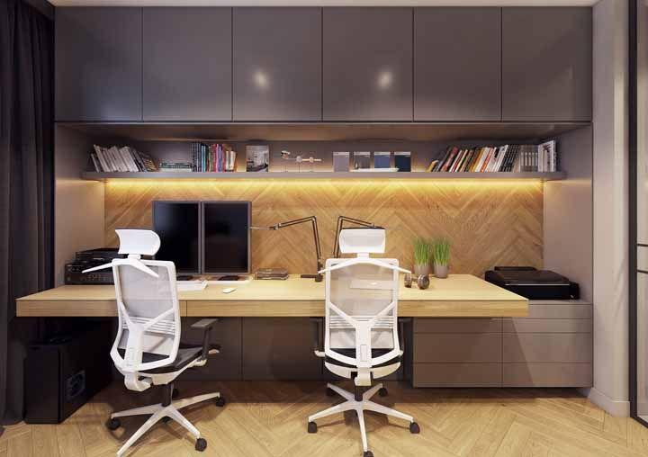 Um home office organizado é tudo o que você precisa? Manda fazer então, literalmente