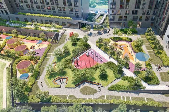 Espaços públicos rodeados de verde é o que toda cidade precisa