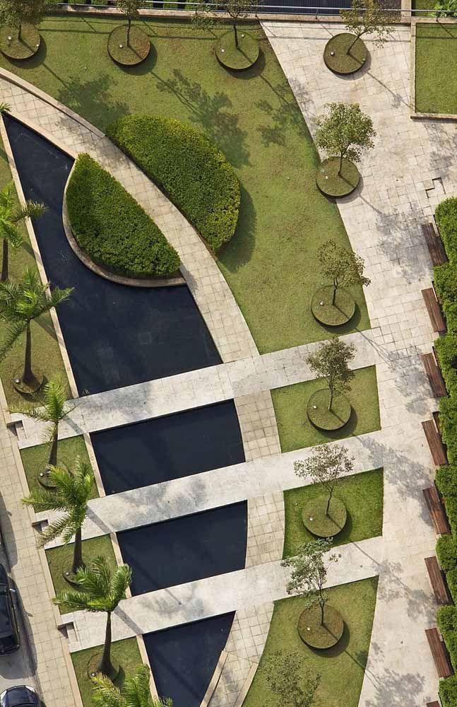 O paisagismo é uma obra de arte a céu aberto