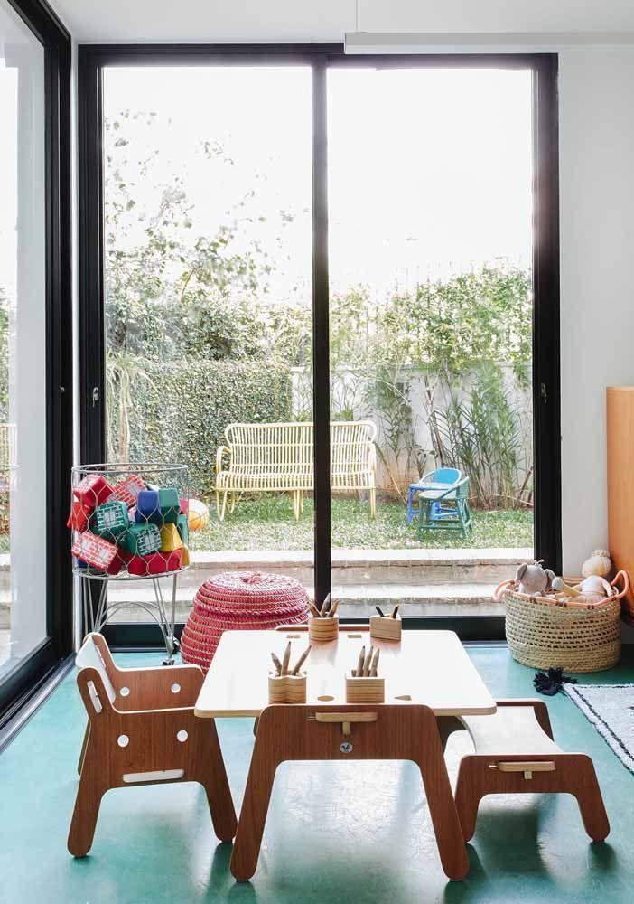 Na área infantil, o piso epóxi também se mostra uma excelente opção