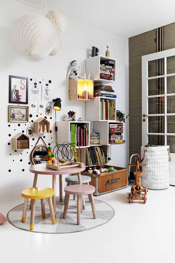 A limpeza fácil torna o piso epóxi uma das melhores opções para quartos infantis
