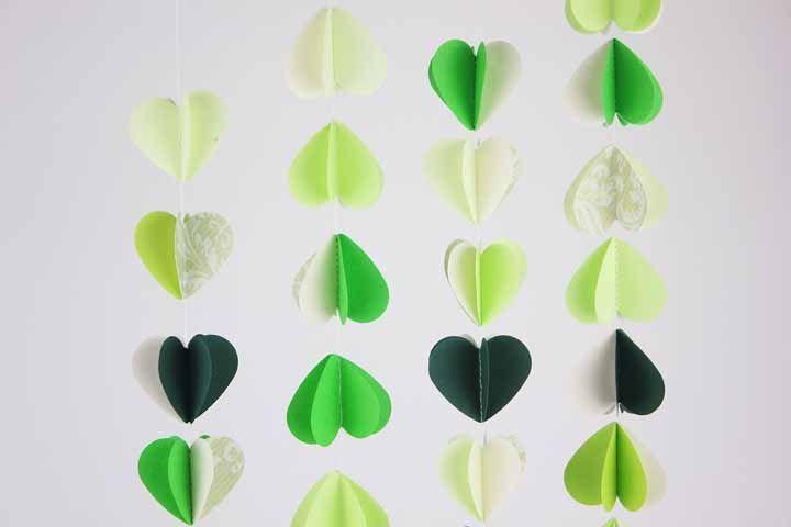 Coração não precisam ser sempre vermelhos, podem ser verde também