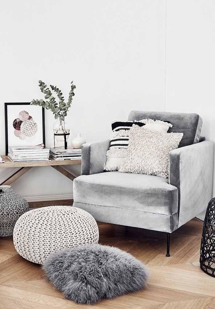 Veludo, pelúcia, crochê: vai anotando aí as texturas que você precisa ter em casa para criar o melhor do estilo hygge