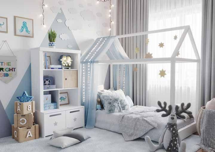 O quarto infantil tem conforto e aconchego de sobra