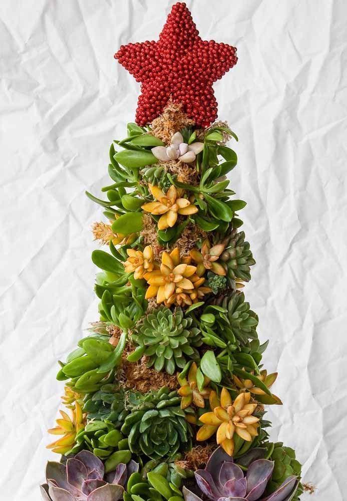 Você pode fazer uma árvore com qualquer material