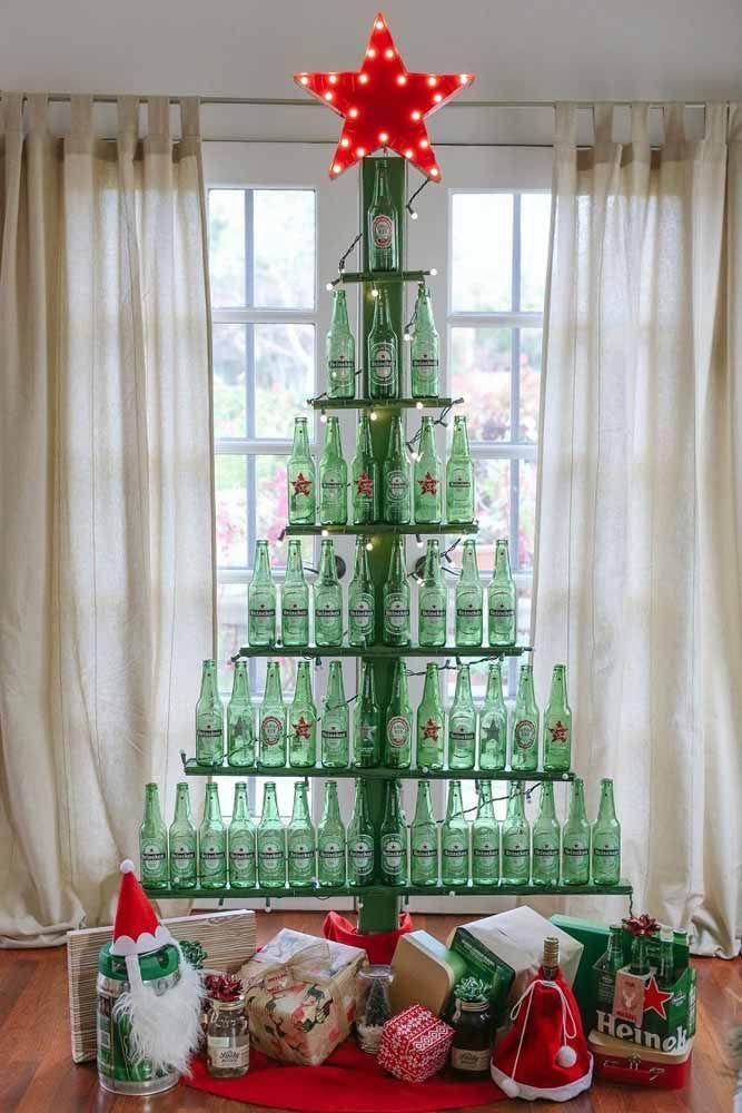 Quem adora tomar uma cerveja vai amar essa árvore!