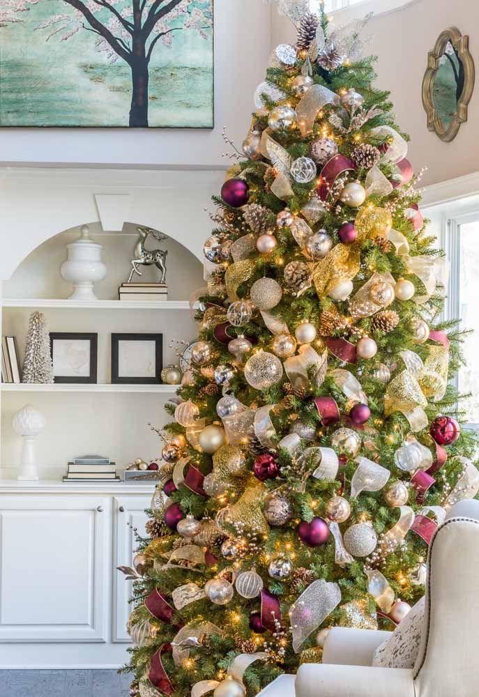 É muito luxo em uma árvore só