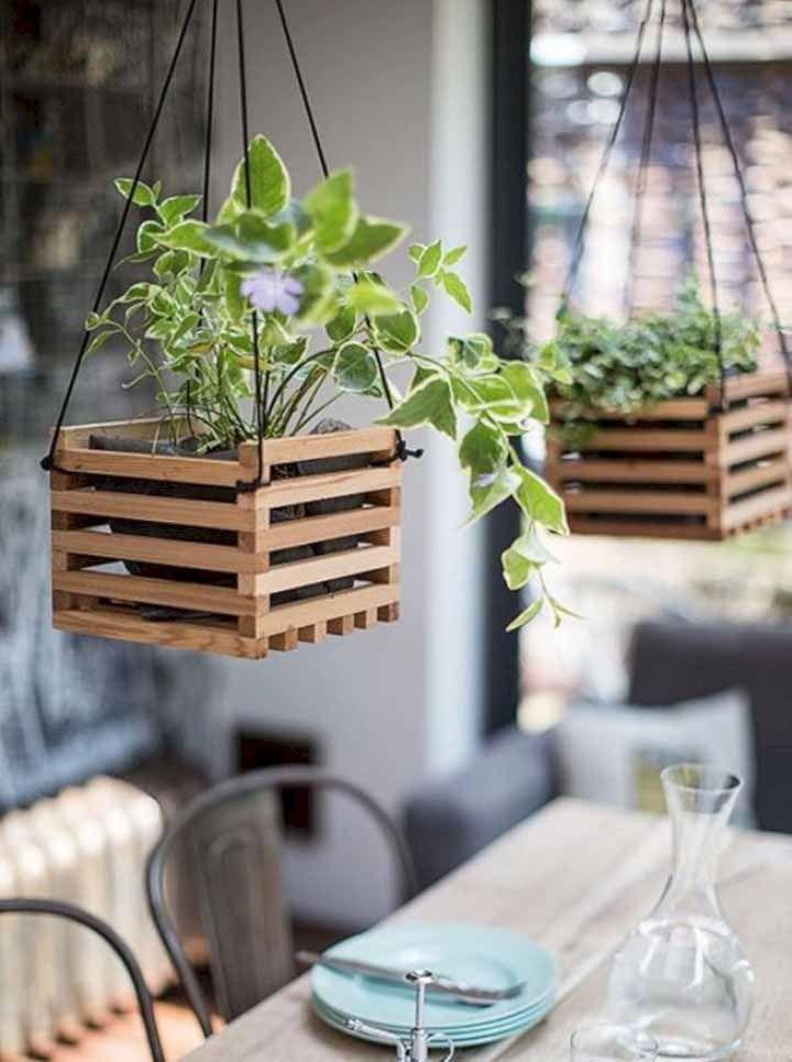 Os clássicos cachepots de madeira: nunca saem de moda