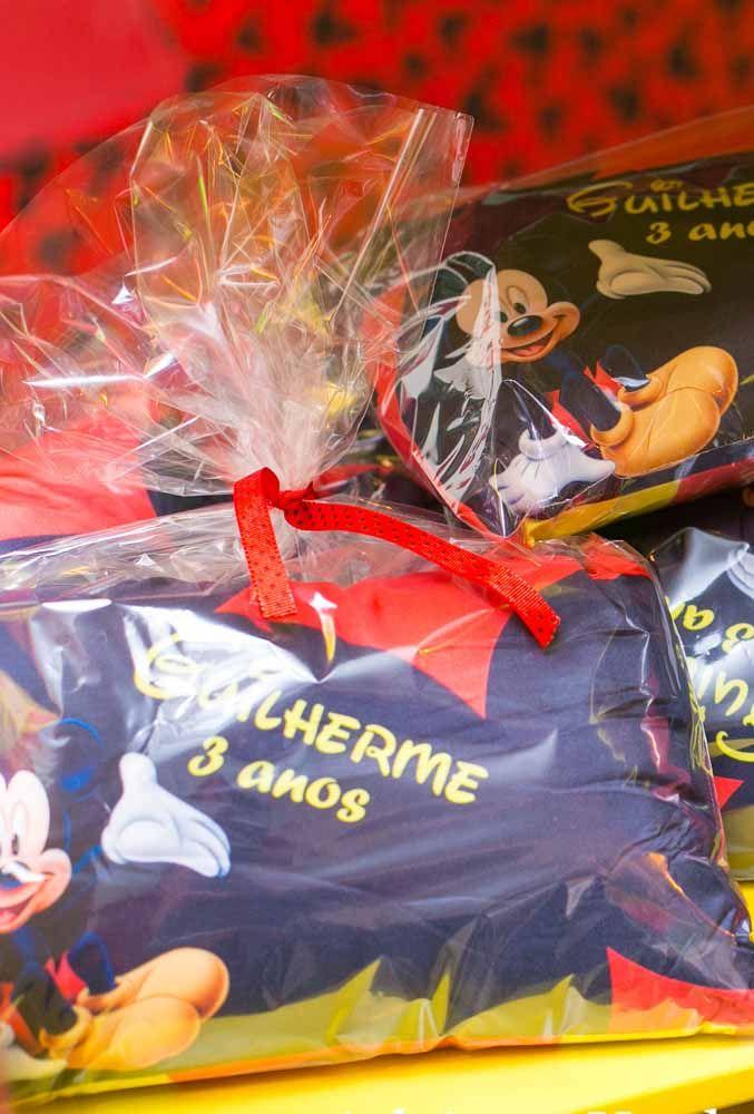 As lembrancinhas diferentes são perfeitas para distribuir em uma festa do Mickey